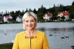 Lilja Alfreðsdóttir, mennta- og menningarmálaráðhera.