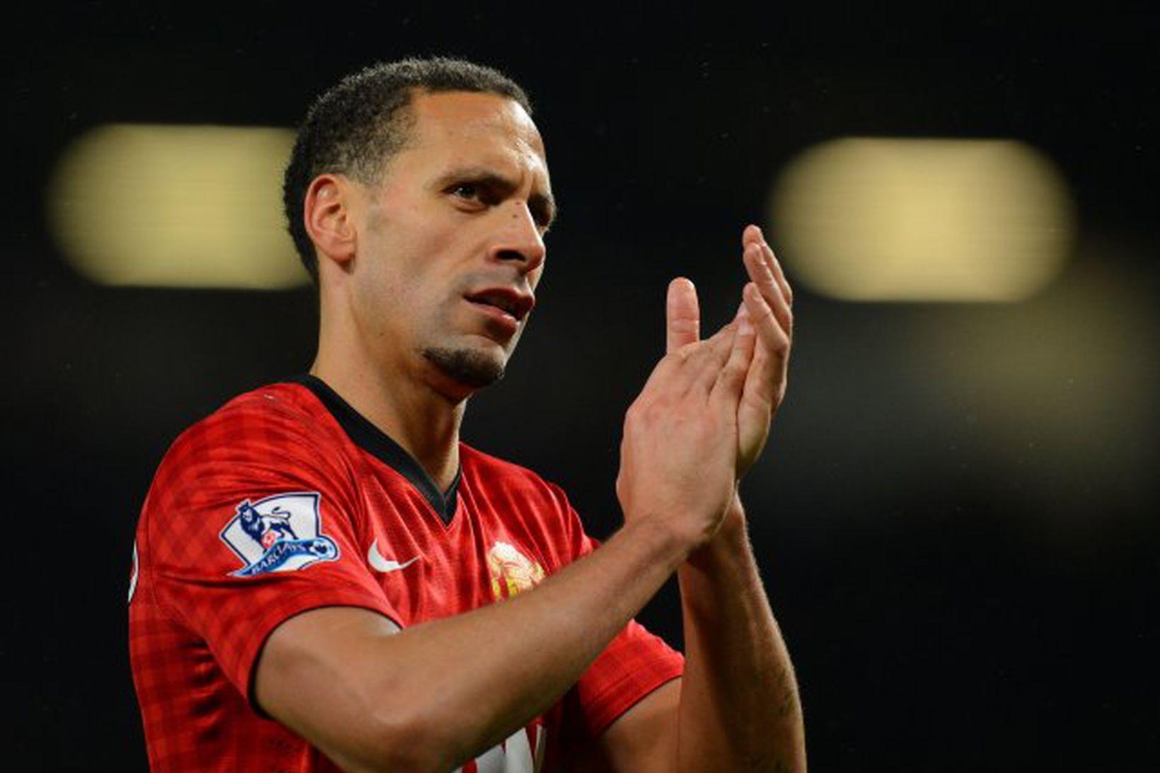 Rio Ferdinand átti góð ár hjá Manchester United.