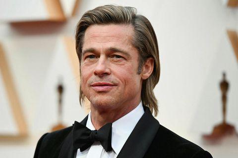 Brad Pitt fær yngstu börnin til sín um jólin.