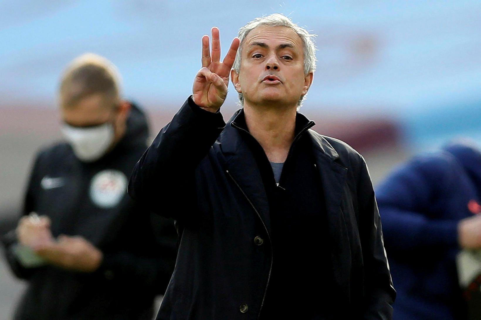 José Mourinho hefur alltaf haft mikla trú á sjálfum sér.