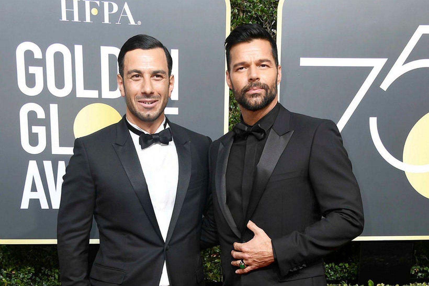 Jwan Yosef og Ricky Martin eiga stóra fjölskyldu.