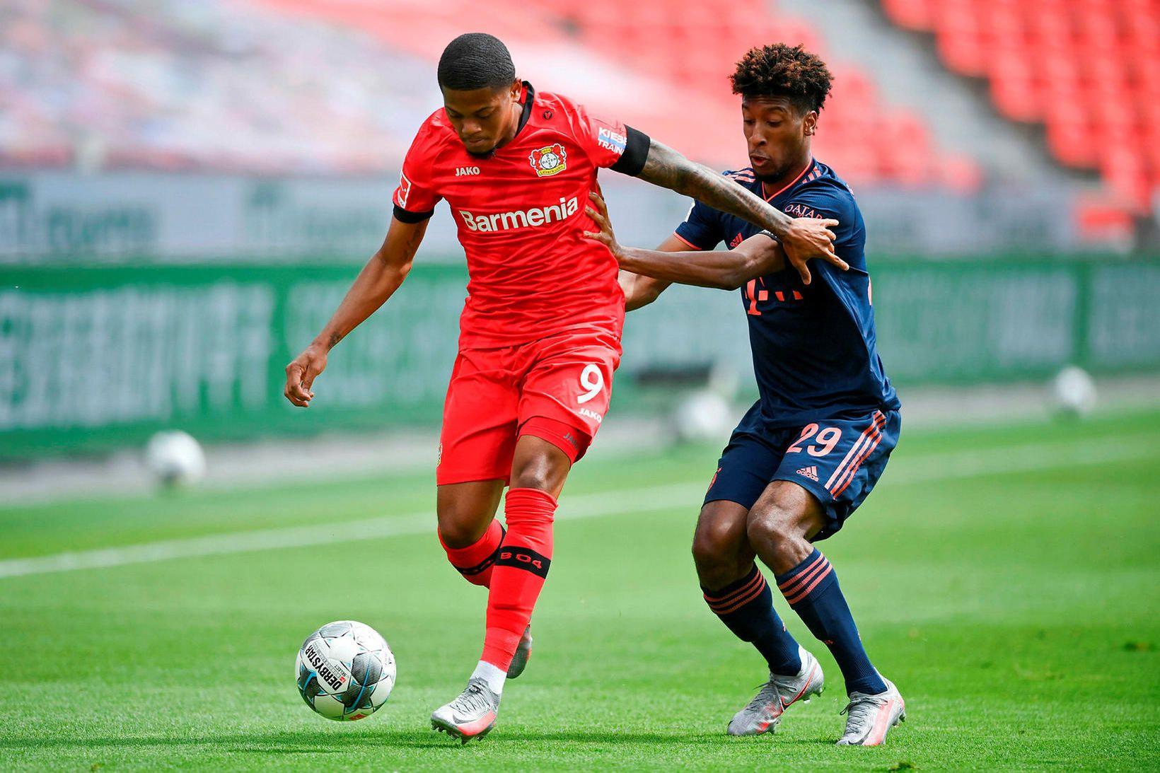 Leon Bailey er genginn til liðs við Aston Villa.