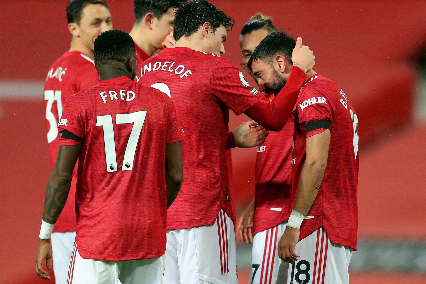 Manchester United mætir Southampton í dag.