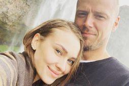 Alyona og Ragnar eignuðust stúlku í dag.