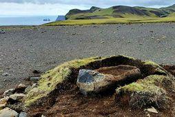 The 'ship,' located on Fagradalsheiði moor.
