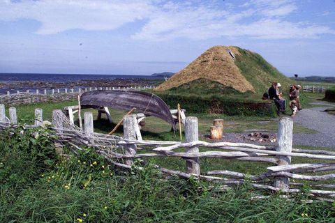 Until now it has been believed that Nordic people went no further than to L'­An­se aux Medows in Newfoundland. The new discovery changes that.