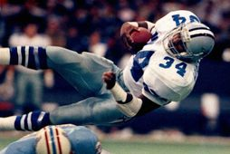 Walker í leik með með Dallas Cowboys í NFL-deildinni.