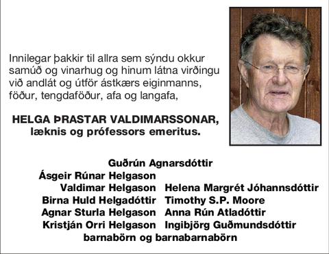 Helga Þrastar Valdimarssonar,
