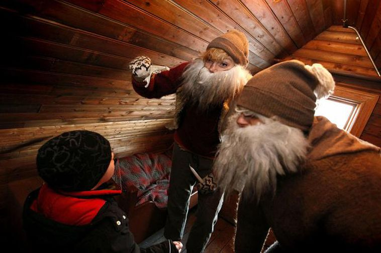 The Icelandic Yule Lads are 13 and only give gifts to well-behaved children.