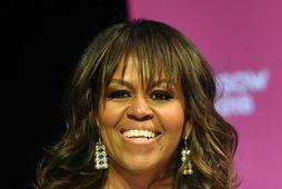 Michelle Obama þurfti að læra að gera sig sjálfa hamingjusama.