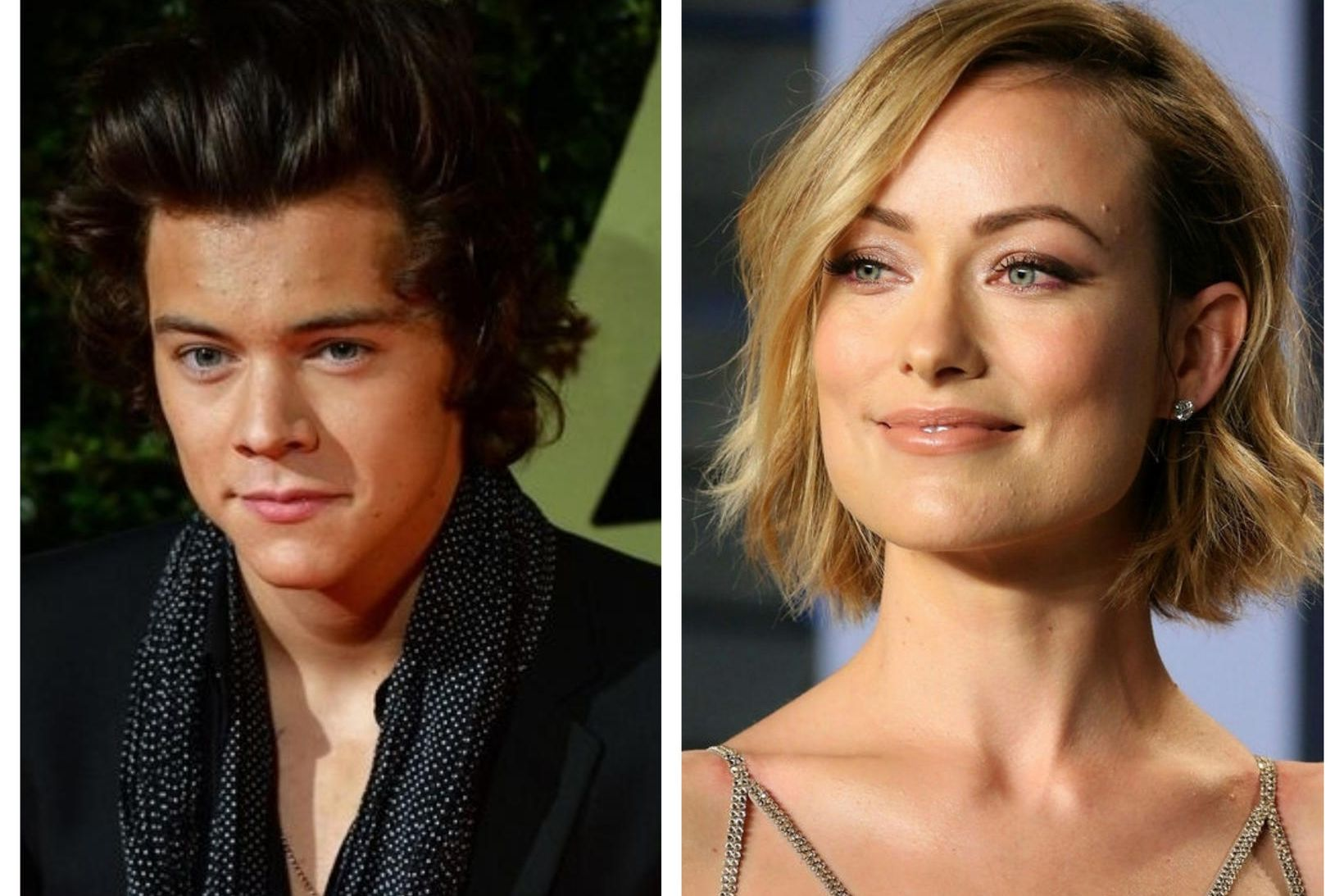 Harry Styles og Olivia Wilde.