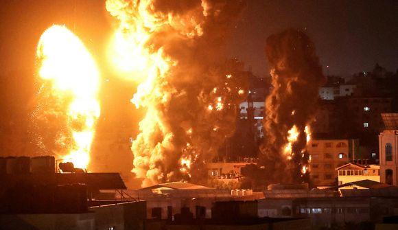 Linnulausar loftárásir á Gaza í nótt
