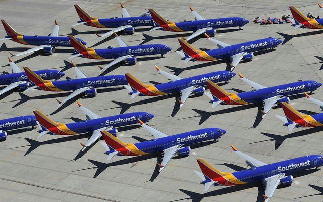 737 MAX-vélarnar hafa ekki verið notaðar í farþegaflugi síðan í mars í fyrra eftir tvö …