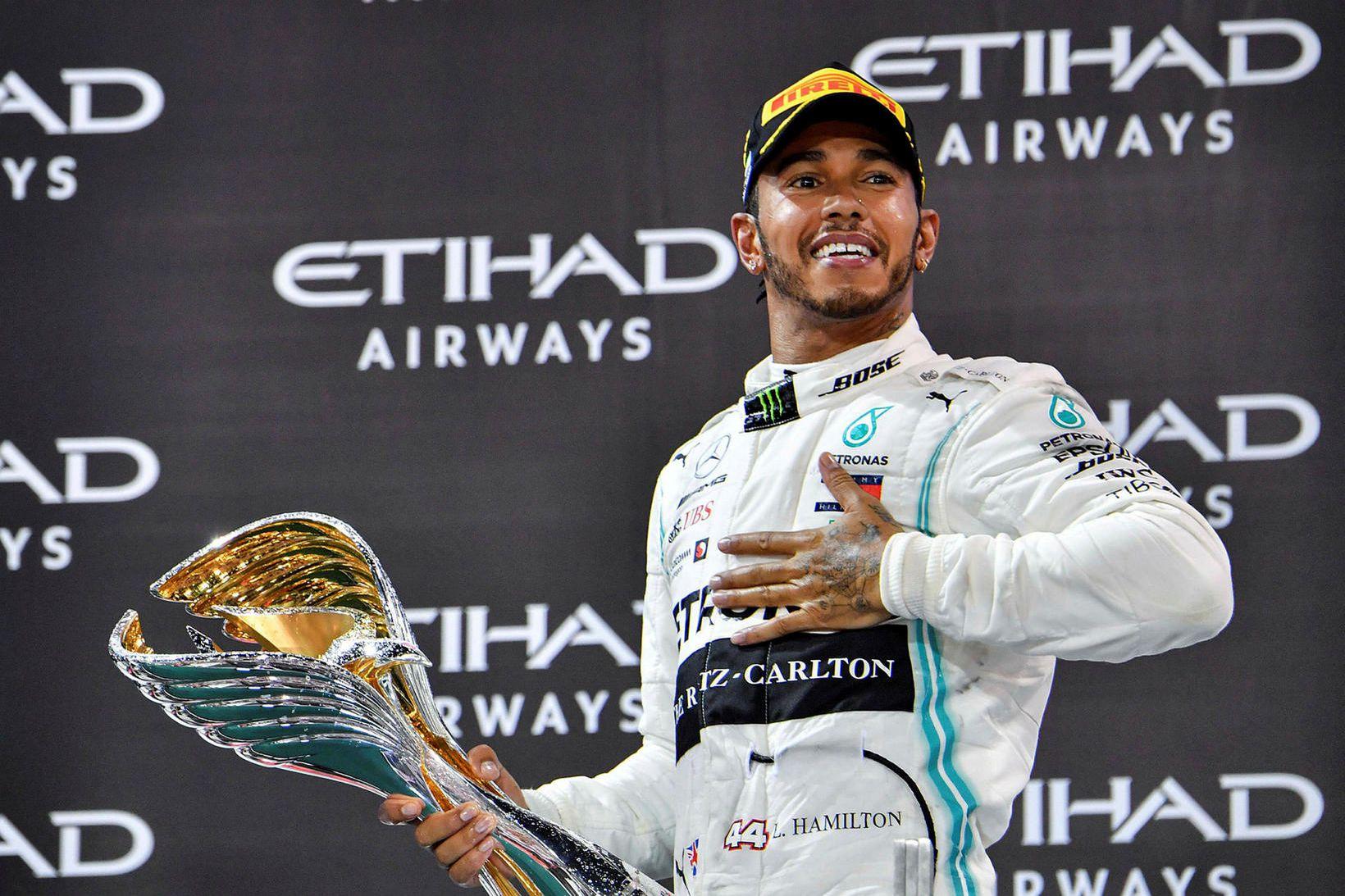 Lewis Hamilton er ríkjandi heimsmeistari í Formúlu-1.