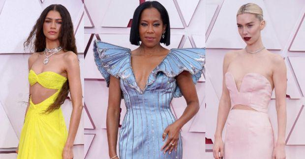 Zendaya, Regina King og Vanessa Kirby voru meðal best klæddu stjarnanna í gærkvöldi.
