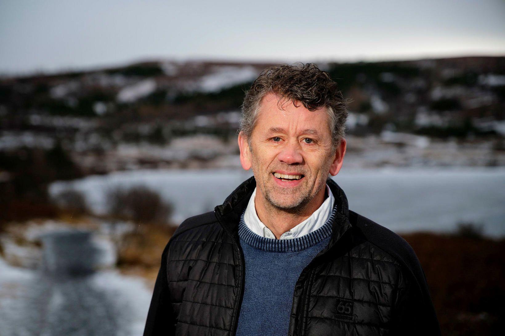 Torfi H. Leifsson er maðurinn á bakvið hlaup.is, eina elstu …