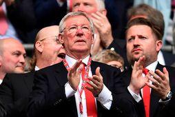 Sir Alex Ferguson er hrifinn af því starfi sem Steven Gerrard hefur unnið hjá Rangers.