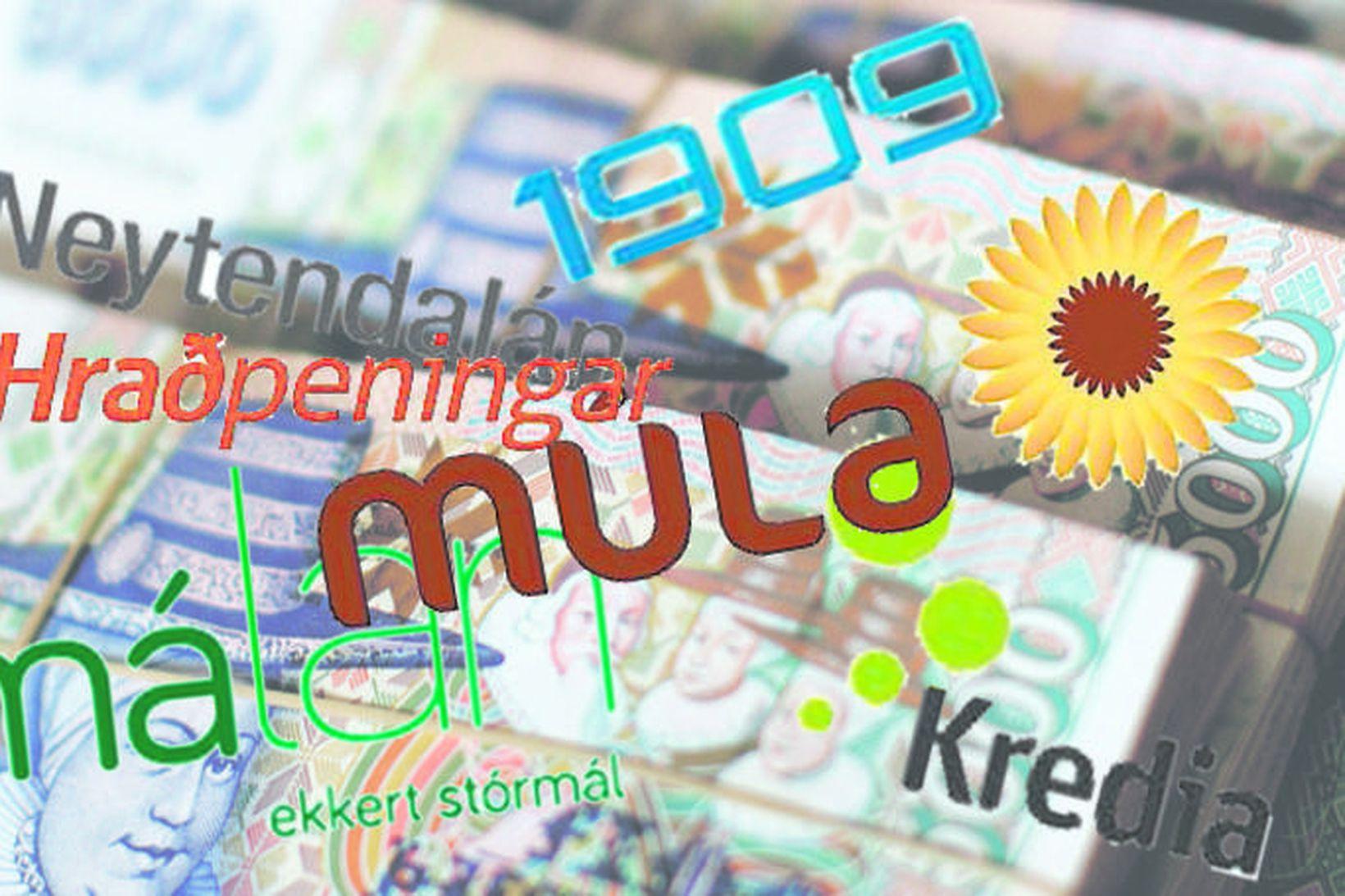 BPO Innheimta hefur keypt allt kröfusafn Kredia, Hraðpeninga, Smálána, 1909 …