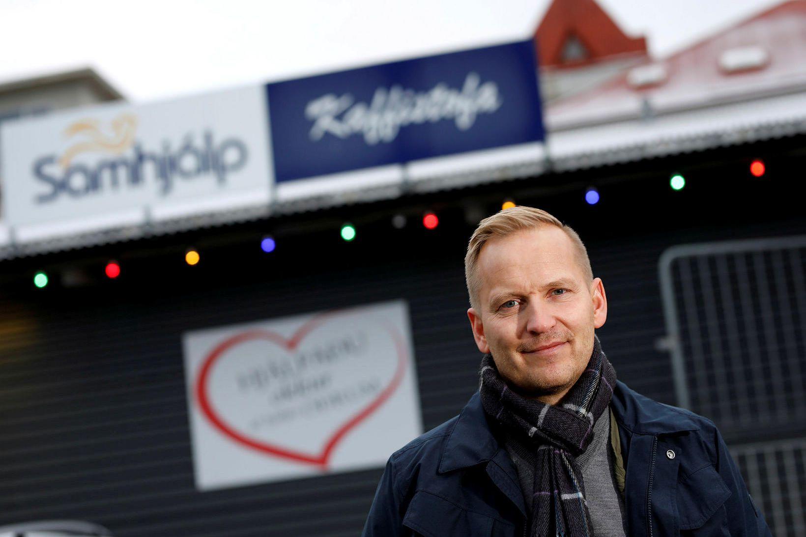 Valdimar Svavarsson, framkvæmdastjóri Samhjálpar.