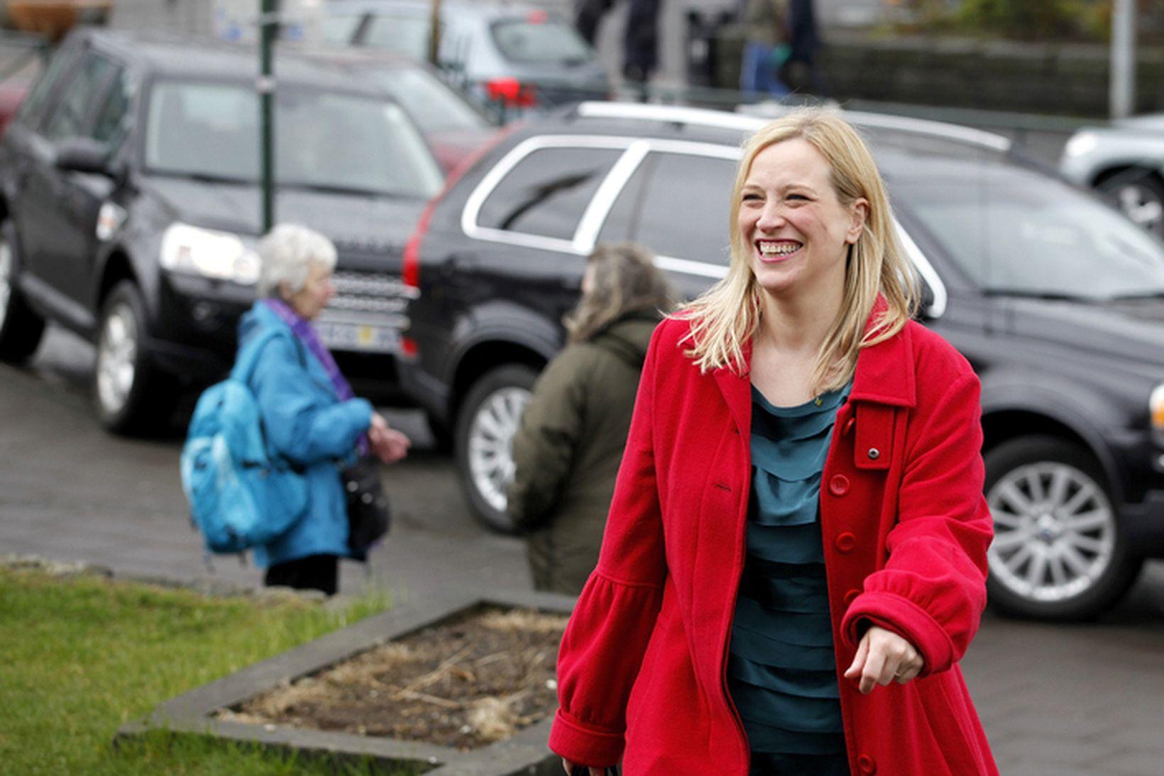 Eygló Harðardóttir, félags- og húsnæðismálaráðherra.