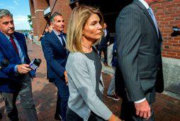 Lori Loughlin ásamt eiginmanni sínum Mossimo Giannulli.