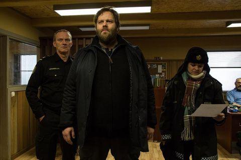 Ingvar E. Sigurðsson, Ólafur Darri and Ilmur Kristjánsdóttir star in Icelandic drama series Ófærð.
