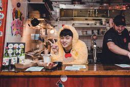 Deuki Hong mætti fyrst á Food & Fun í fyrra.