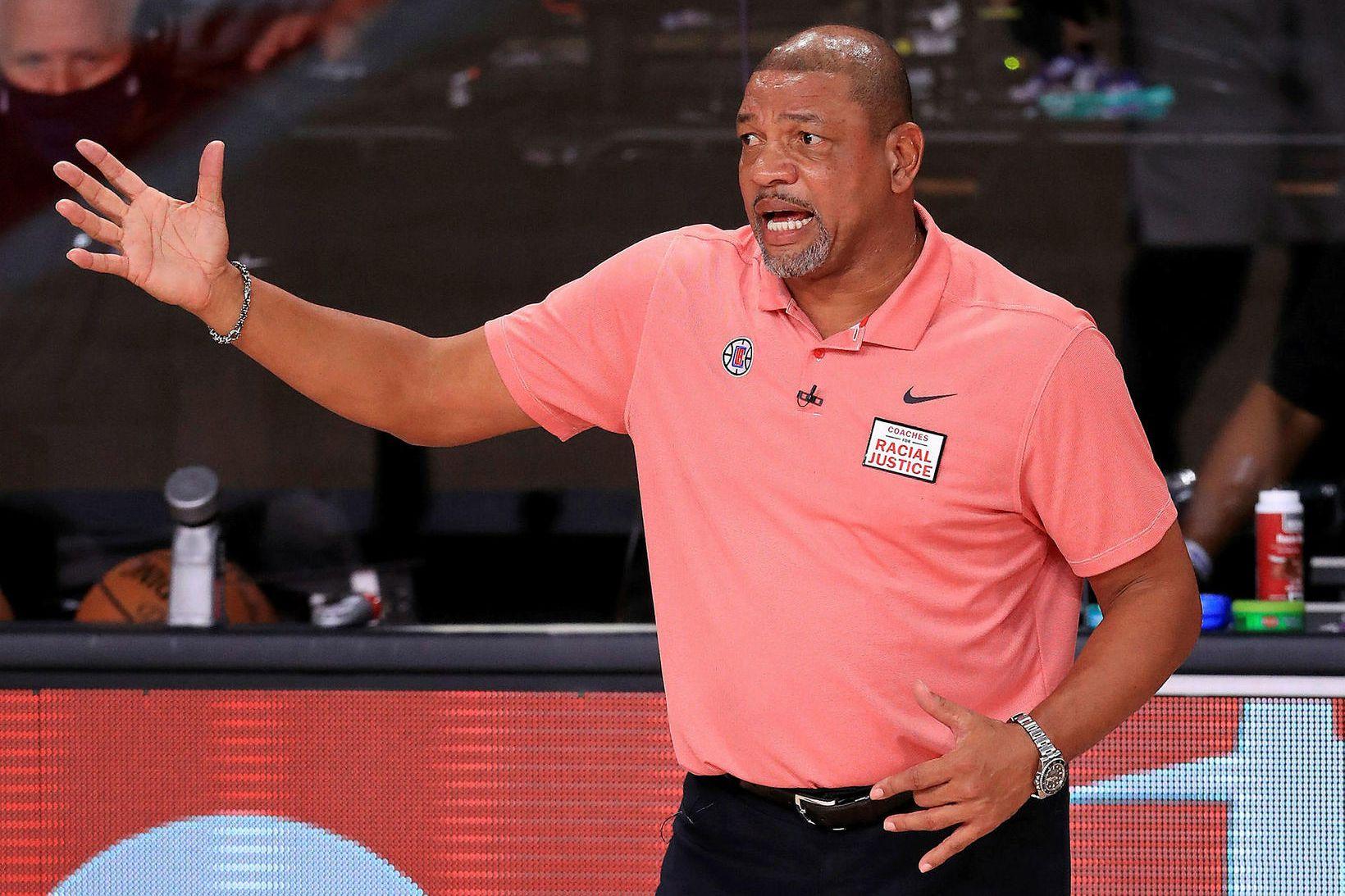 Doc Rivers hefur þrívegis misst niður 3:1-forystu í úrslitakeppni NBA-deildarinnar.