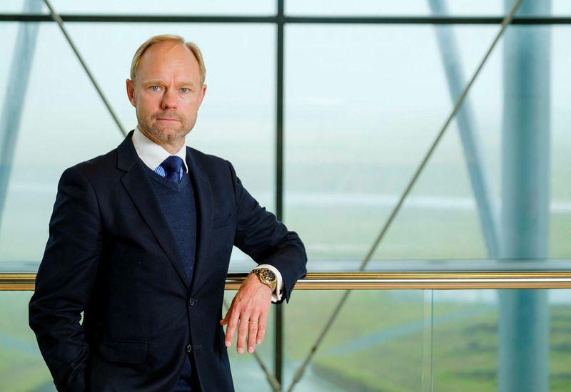 NIB President and CEO André Küüsvek.