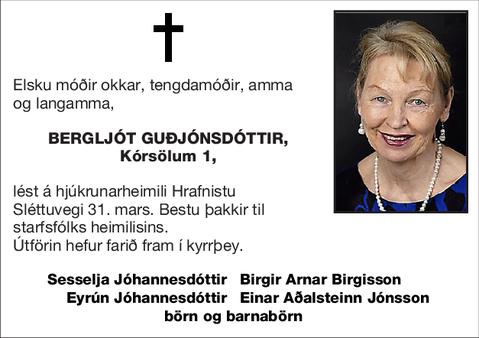 Bergljót Guðjónsdóttir,