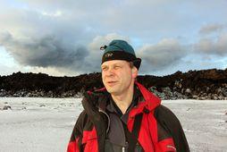 Magnús Tumi Guðmundsson, doktor í jarðeðlisfræði.