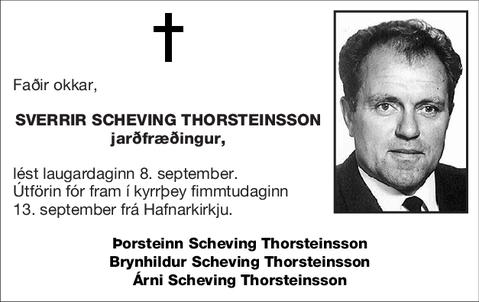 Sverrir Scheving Thorsteinsson
