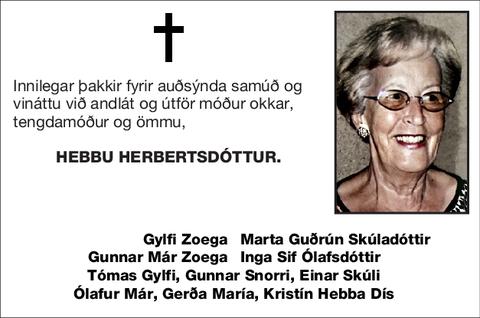 Hebbu Herbertsdóttur.