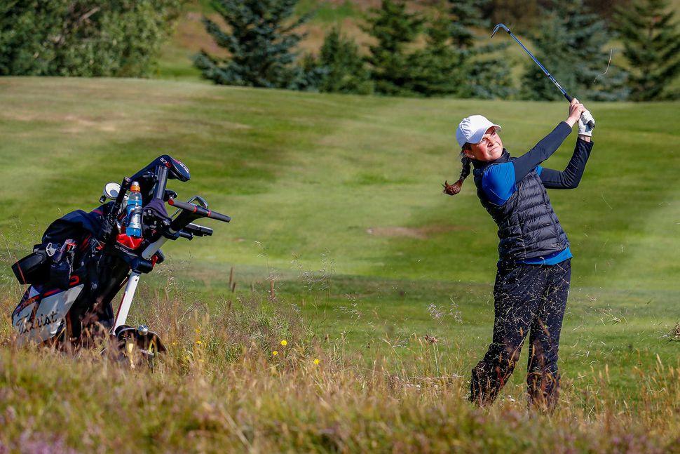 Landsmót í Golfi 2019. Hulda Clara Gestsdóttir.