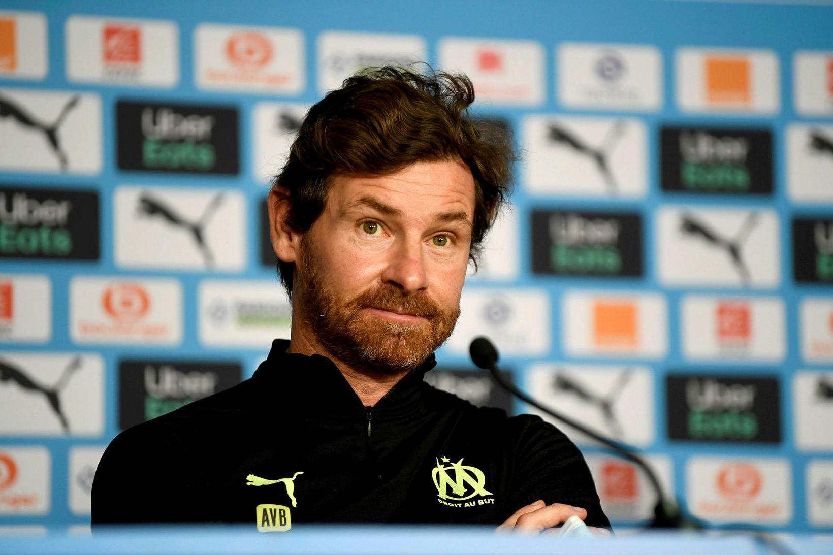 André Villas-Boas var síðast knattspyrnustjóri Marseille.