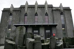 Þjóðleikhúsið við Hverfisgötu.
