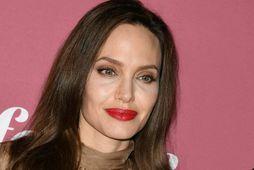 Leikkonan Angelina Jolie.