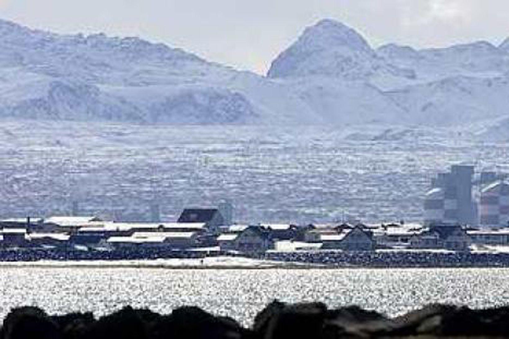 Alcan í Straumsvík.
