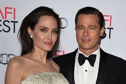 Angelina Jolie og Brad Pitt deila um forræði barna sinna.