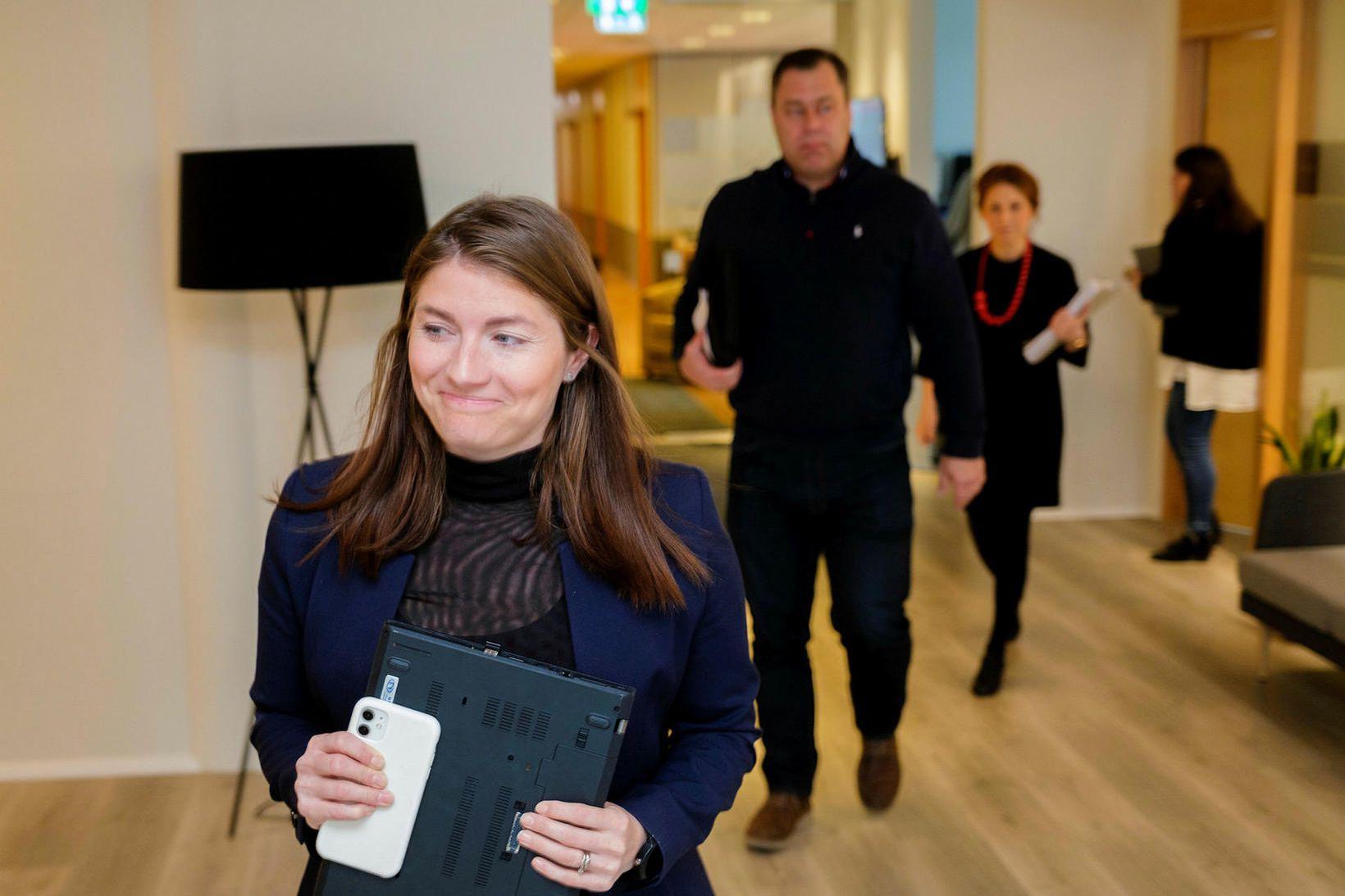 Guðlaug L. Jóhannsdóttir, formaður Flugfreyjufélags Íslands.