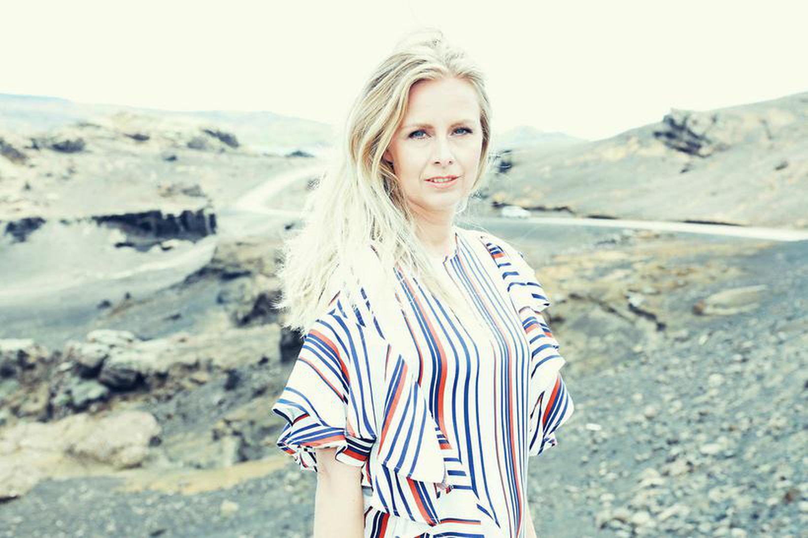 Helga Ólafsdóttir yfirhönnuður og eigandi iglo+indi.