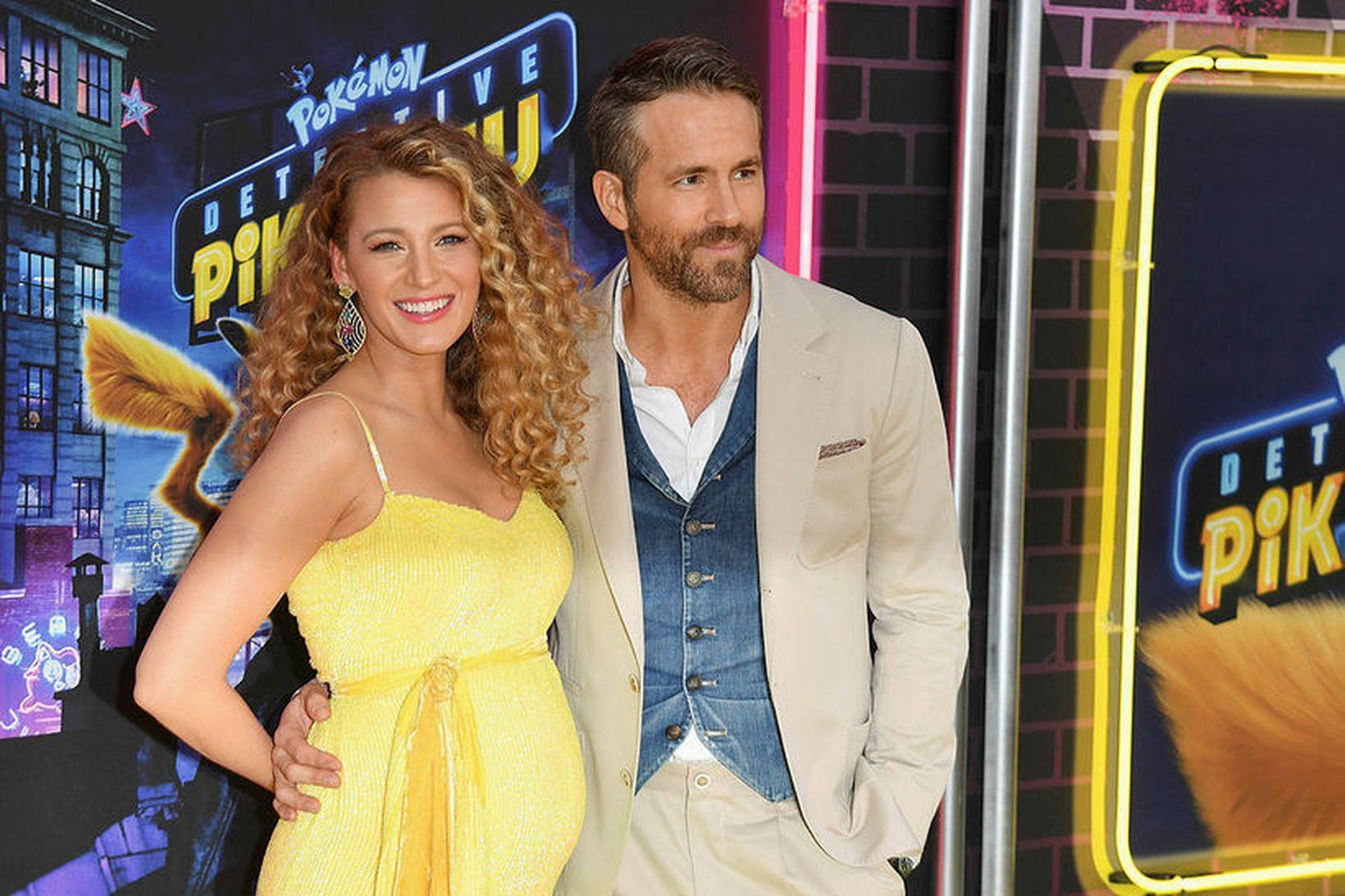 Blake Lively og Ryan Reynolds kynntust fyrst við tökur á …