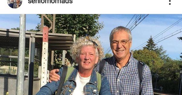 Debbie og Michael hættu að halda heimili fyrir sex árum og búa nú eingöngu í ...