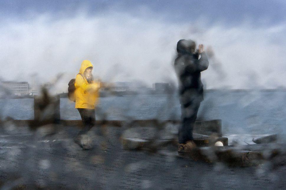 Veðrið er að ganga niður á suðvesturhorninu.