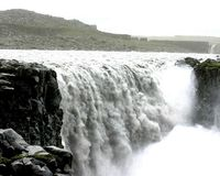 Dettifoss is reputed to be Europe's most powerful waterfall.