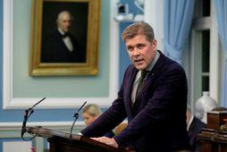 Bjarni Benediktsson, fjármálaráðherra og formaður Sjálfstæðisflokks.