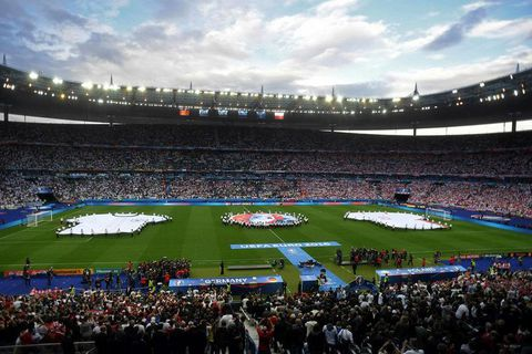 Iceland play at Stade de France this afternoon.
