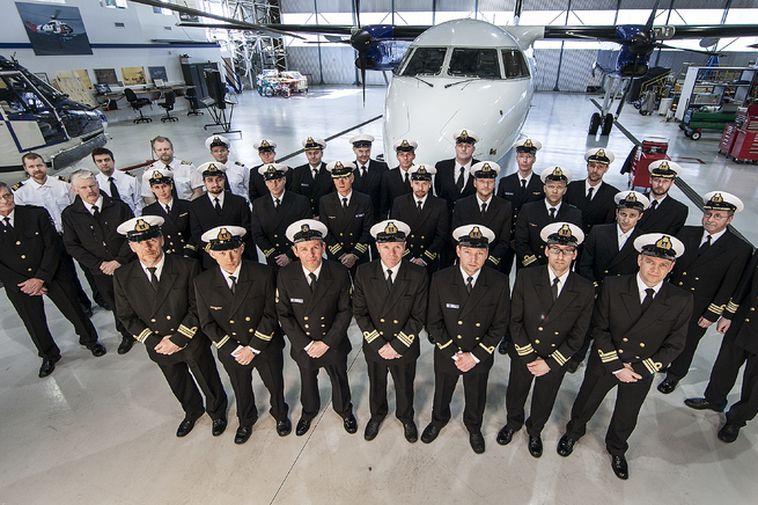 ICG air crew, 2015.