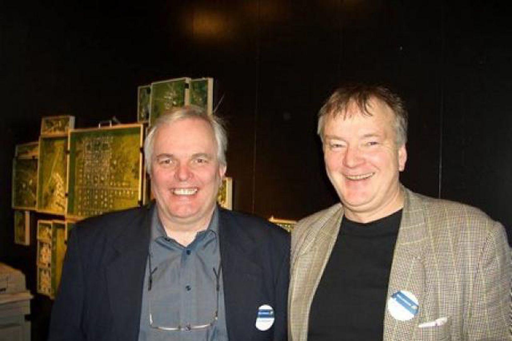 Jón Baldursson og Þorlákur Jónsson.