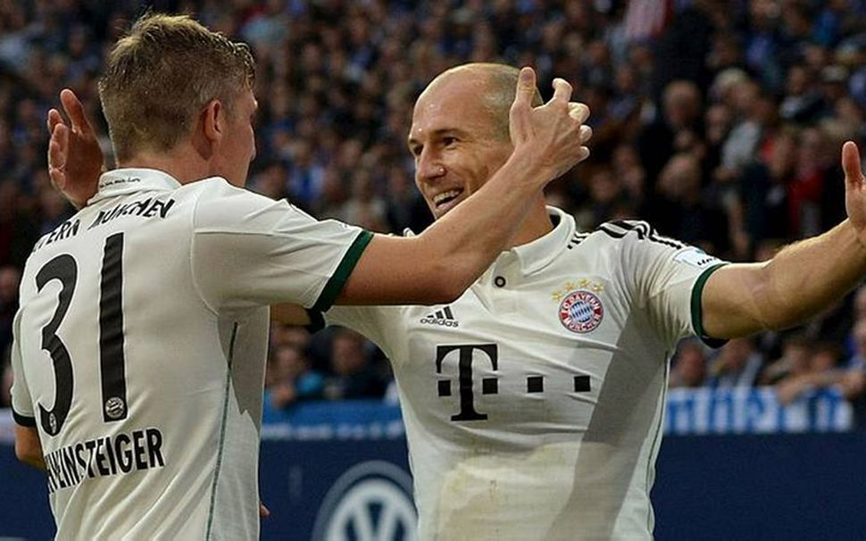 Arjen Robben og félagar hans í Bayern München léku listir ...